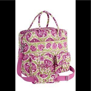 Vera Bradley Grand Cargo Bag Julep Tulip Bag.